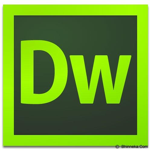 ADOBE Dreamweaver Creative Cloud - 1 Year - Software Photo Editing Licensing